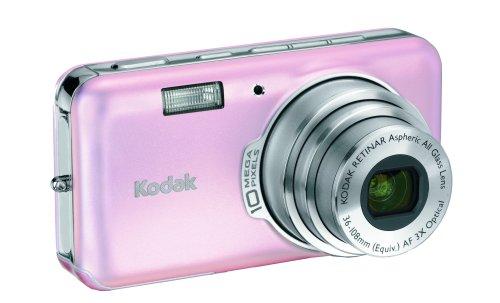 Kodak Easyshare V1003 10 MP Digital Camera with 3xOptical Zoom (Pink Rose)