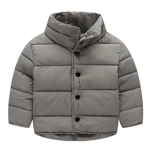 Newmarket Jacket (Kids Outerwear Coats Coat Kids Children Baby Thicken Jackets Boys Girls Coat 3-8Y Grey 5T)