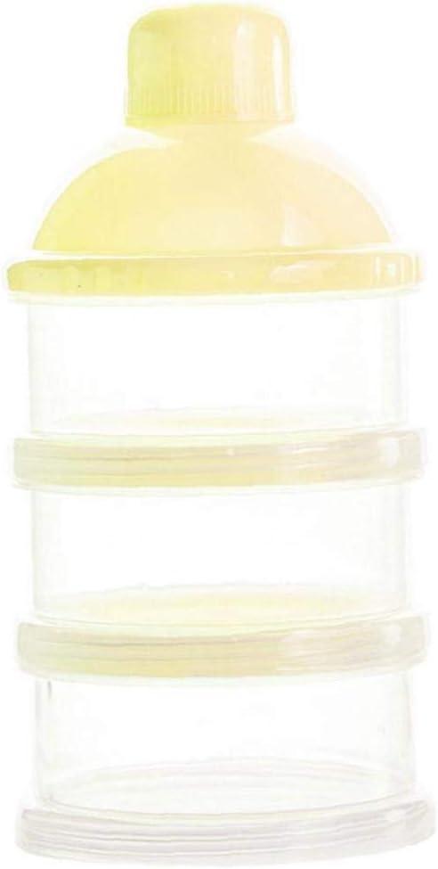 Tragbare Dreischichtigen Milchpulver Formel Dispenser Nicht Fleck-Baby-Kinder-milchpulver Formel Spender BYFRI 1 Packung Formel-zufuhr