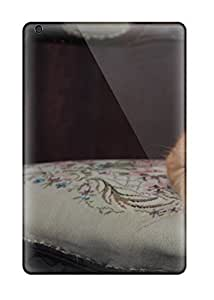 Hot New Cat In Victorian Chair Case Cover For Ipad Mini/mini 2 With Perfect Design