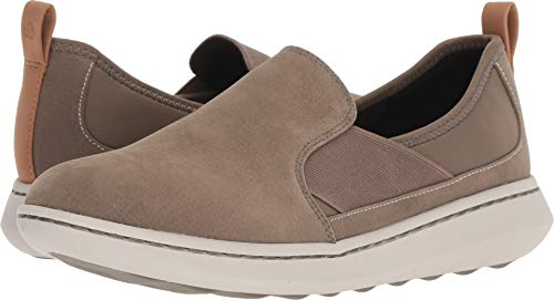 CLARKS Women's Step Move Jump Sneaker sage Synthetic 080 M ()