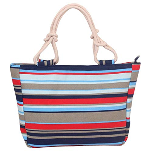 (Lanhui Women's Print Shoulder Tote, New Casual Canvas Bag Female Shoulder Cloth Bag Fashion Handbag)