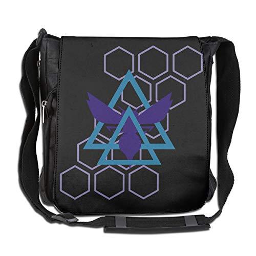 XIVEIER Customized North Carolina Seal Basketball Team Hornets Logo Funny Crossbody Bags For Men