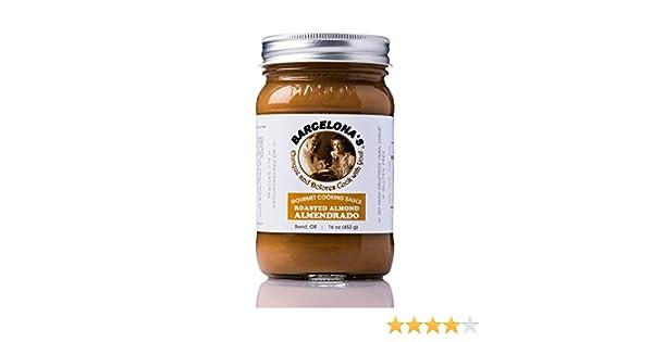Amazon.com : Barcelonas All Natural, Gluten Free, Mole De Almendras (Almendrado) Almond Gourmet Cooking Sauce 16 Oz. Jar : Grocery & Gourmet Food