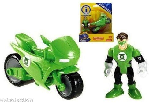 Fisher Price Imaginext DC Gotham City Green Lantern & Cycle