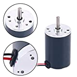 Yaegoo 12V DC 2000RPM Brushed Electric Motor 38mm CCW Replacement Motor (2000RPM)