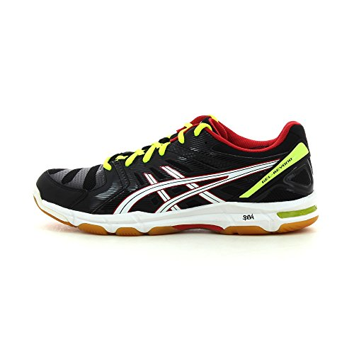 Asics Gel Beyond 4 Black White Red Black, white, flash yellow