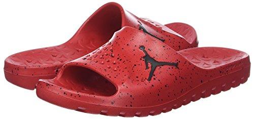 black Da Jordan black Team 611 Scarpe Super Basket Slide Nike Uomo Red university fly Rosso OpnYOa