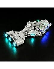 YBLOC LED-verlichtingsset Voor Lego 75315 Star Wars Imperial Light Cruiser Building Kit, Lichtshow Compatibel Met Lego 75315 (exclusief De Lego-set) (Klassieke editie)
