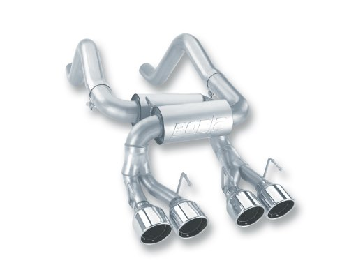 Chevrolet Corvette Borla Exhaust - Borla 11761 Rear Section Exhaust - CORV Z06/ZR1 '06-'09 7.0L/6.2L V8 MT RWD 2DR