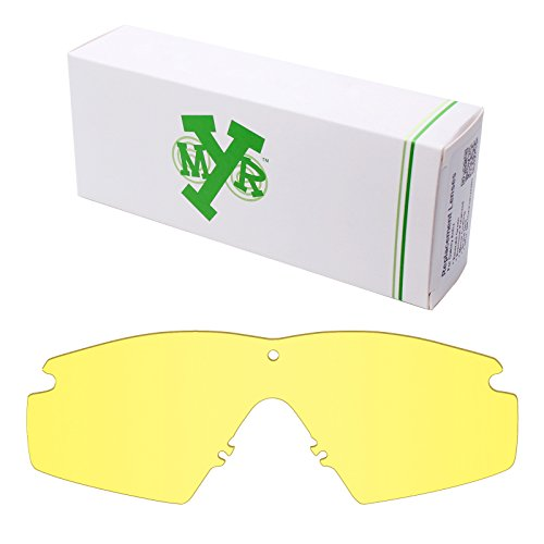 Mryok UV400 Replacement Lenses for Oakley Industrial M Frame 2.0 - HD - Sunglasses Yellow Frame Oakley