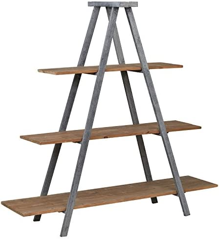 Amazon Brand Stone Beam Bryson A-Frame Bookcase Shelf Stand