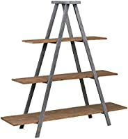 "Amazon Brand – Stone & Beam Bryson A-Frame Bookcase Shelf Stand, 70.7""W, Wood"