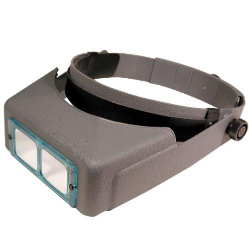 Donegan DA-10 OptiVisor Headband Magnifier, 3.5x Magnification, 4