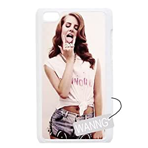 Lana Del Rey Ipod Touch4 Phone Case, Lana Del Rey DIY Case for Ipod Touch4 at WANNG
