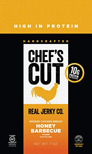 Chef's Cut Tender Real Smoked Chicken Breast Jerky, Honey Barbecue, 14 Ounce