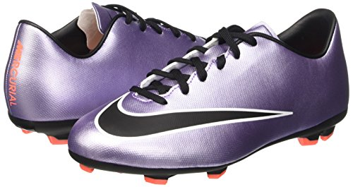 black Victory Da bright bambini Scarpe Mango purple Unisex Lilac Viola urban Mercurial V white Jr Nike Fg Calcio wqYZ6Ezz