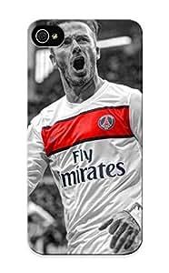 Artistgirl Brand New Defender Case For Iphone 5/5s (soccer David Beckhamphotography Selective Coloring Paris Saintgermain Fc ) / Christmas's Gift