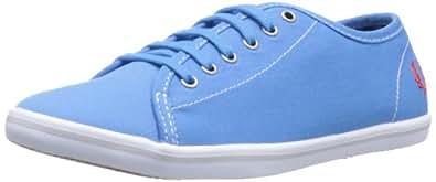 Fred Perry Women's Phoenix Canvas Fashion Sneaker,Kingfisher,7 UK/9 M US