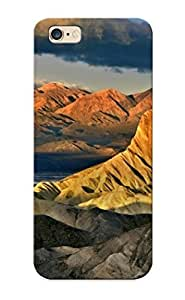 Iphone 6 Plus Case Cover Mountains Clouds Landscapes Dawn California Death Valley National Park Case - Eco-friendly Packaging