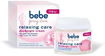 Original GERMAN bebe Young Care -Relaxing Care-Day/Night cream 50 Ml 1.7