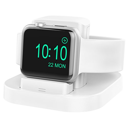 Stand Compatible Apple Watch Series4 Charging Dock Compatible Apple Watch Series4/3/2/1/Nike+/42mm/38mm Innovatory Adjustable Lift Platform Compatible Apple Watch Naked or WearingCase