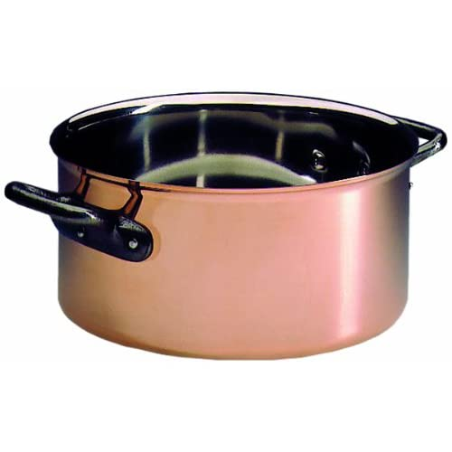 Matfer Bourgeat COPPER CASSEROLE 9 1/2""