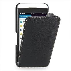 StilGut, UltraSlim, pochette exclusive pour le Blackberry Z10, en noir