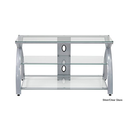 Silver 42 Inch Tv Stand - 3