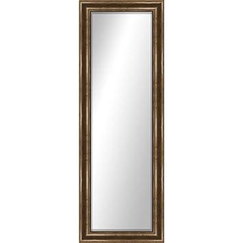 Home Montebello Full Length Mirror  door wall mirror  Glass  hanger  Brown. Amazon com  Home Montebello Full Length Mirror  door wall mirror