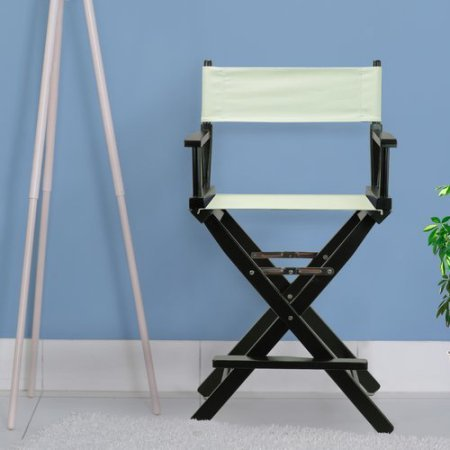 24'' Director's Chair Honey Oak Frame-Olive Canvas by Casual Home