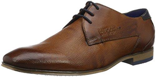 De Derby Hombre Cordones 312101082100 cognac Para Zapatos Marrón Bugatti YTEwIY