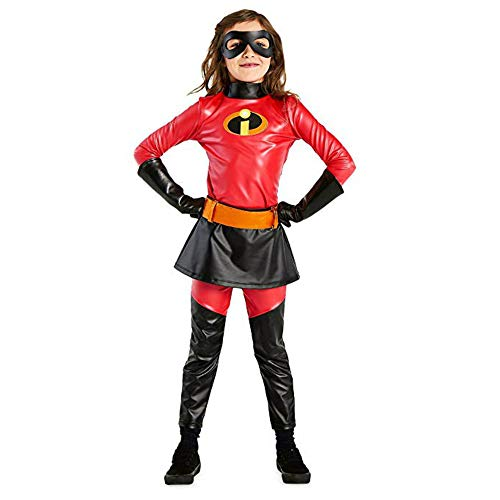 Incredibles Disney Store 2 Violet 6 Piece Costume for Kids (9/10)]()