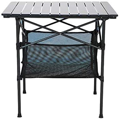 Xyanzi mesas Plegables Mesa de Camping, Mesa de Picnic Plegable de Aluminio Mesa de Ocio Mesa de Barbacoa de Playa Mesa de Camping Plegable Mesa Auxiliar Al Aire Libre: Amazon.es: Hogar