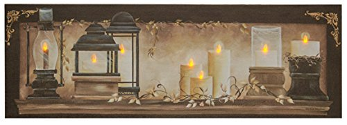 Canvas Print Candles Lighted Primitive product image