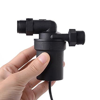 XCSOURCE/® DC 12V pile solaire pompe de circulation deau chaude Noir TE091