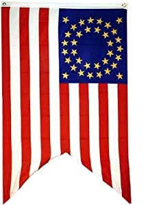 Amazon.com : 3x5 Cavalry Guidon Flag poly nylon blend