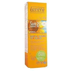 SPF 20 UVA Sensitive Baby and Children Sunscreen by Lavera Skin Care