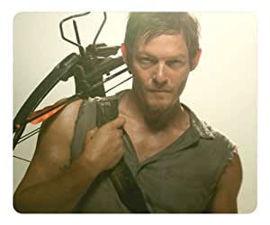 American Teleplay the Walking Dead Daryl Dixon Rectangle mouse pad by atmyshop Your Best Choice