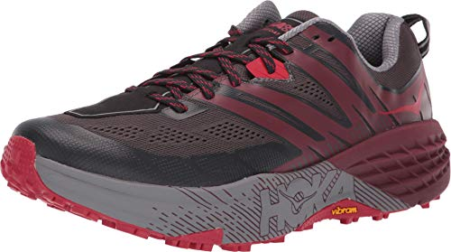 HOKA ONE ONE Men's Speedgoat 3 Pavement/Port 11.5 D US (Best Shoes For Running On Pavement 2019)