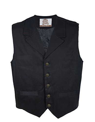 Tiger Hill Men's Twill Vest (Western Vests)