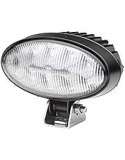 HELLA 1 GB 996 486-001 reflektor roboczy LED - owalny 90 Gen. II - 12/24 V - 4300 lm - montaż - stojący - oświetlenie bliskiego pola - wtyczka: niemiecka wtyczka
