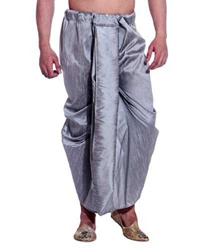 Larwa Men's Wedding Wear Dhoti by Larwa