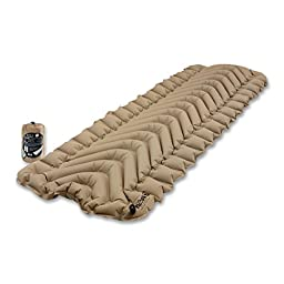 Klymit Static V Lightweight Sleeping Pad, RECON Coyote-Sand