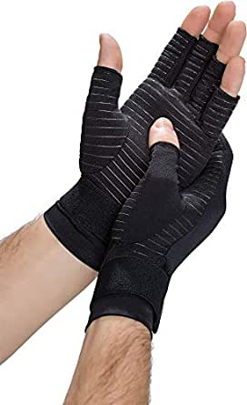 Amazon Com Copper Fit Hand Relief Gloves Discontinued