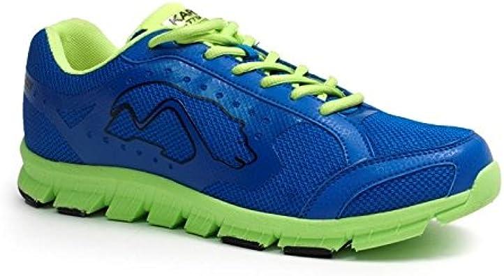 Karhu Caster, Zapatillas de Running Unisex, Azul/Lima, 45 EU: Amazon.es: Zapatos y complementos