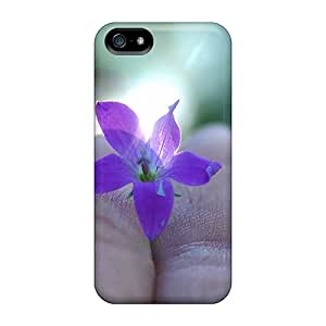 For Iphone 5/5s Tpu Phone Case Cover(the Magic Flower)