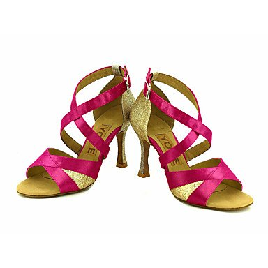 latino Blå Salsa Lilla Hvid Personlig Pink Dansesko sort tilpasses Hæle Bronze Rød C5xRpq57n
