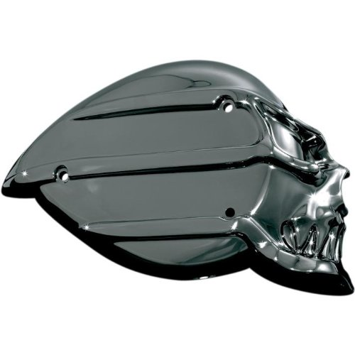 Kuryakyn 9948 Black/Chrome Skull Air Cleaner Kit