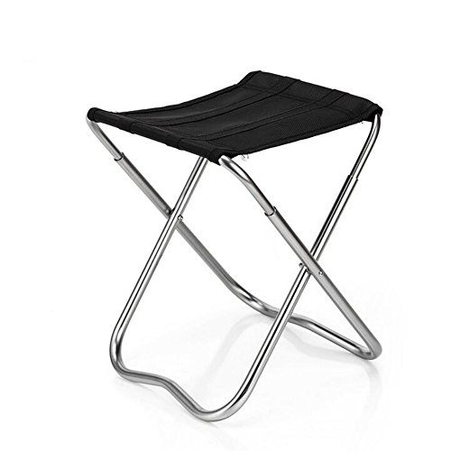 Nadalan Aluminum Alloy Square Folding Canvas Ultralight Folding Chairs by Nadalan